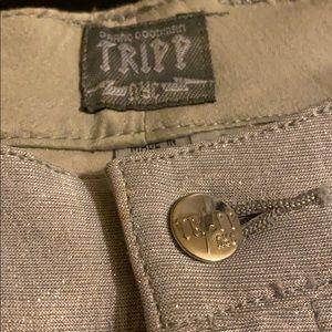 Tripp nyc Pants & Jumpsuits - Tripp glittery gray/metallic pants